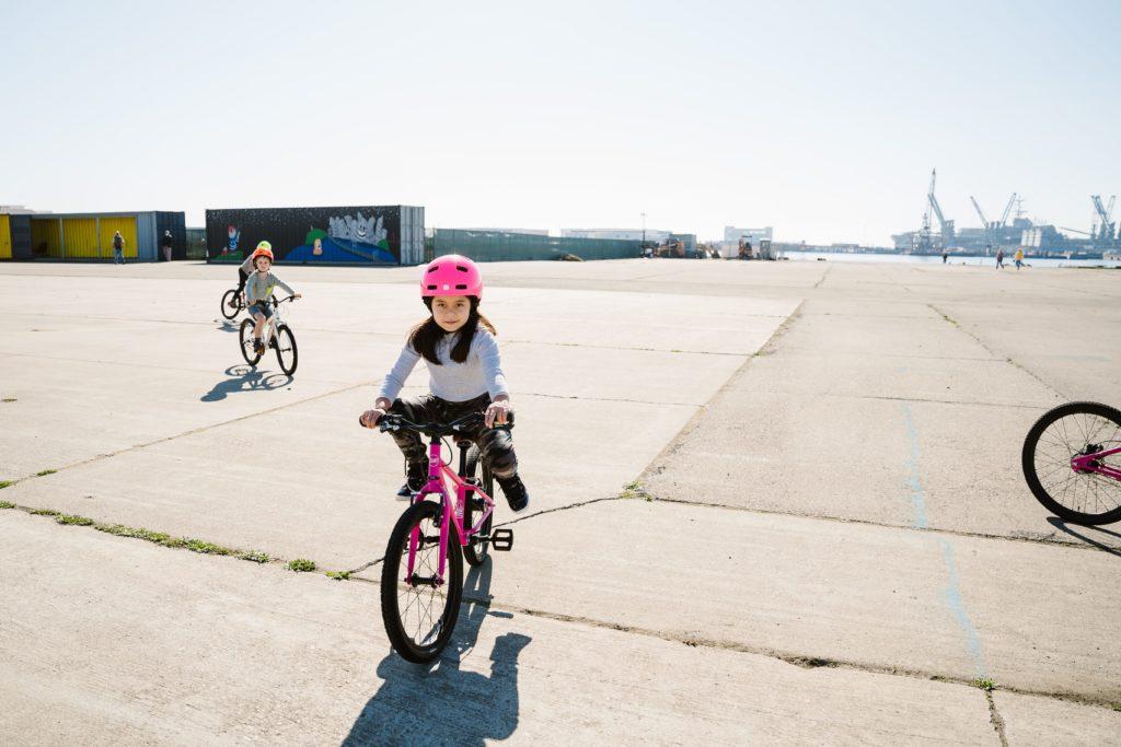 bike gliding